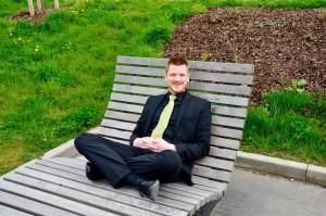 """André Jahn ist Leiter von """"Neue Töne – Chor""""."""